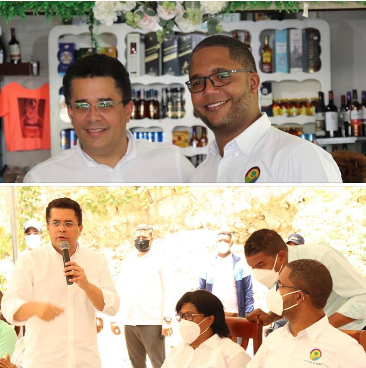 Agradecer al Ministro de turismo David Collado…